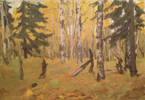 "Rubinsky I. P. ""Autumn in the forest."""