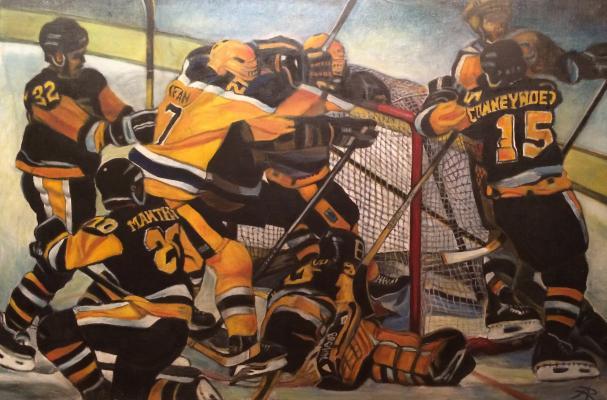"Abramov R. F. ""Hockey. Ice team."""