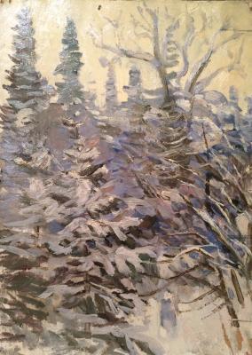 """Avrutis K. A. """"Eli in the snow."""""""