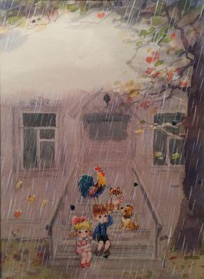 "Zebrova T. A. ""Rain."""