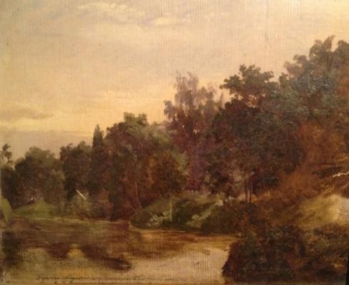 "Vereshchagin V. P. ""Landscape."""