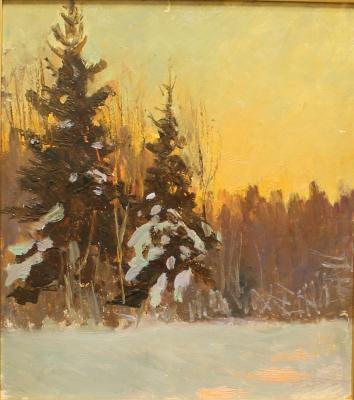 """Brodskaya L. I. """"Winter evening"""""""