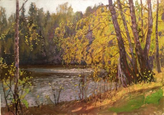 """Brodskaya L. I. """"By the river"""""""
