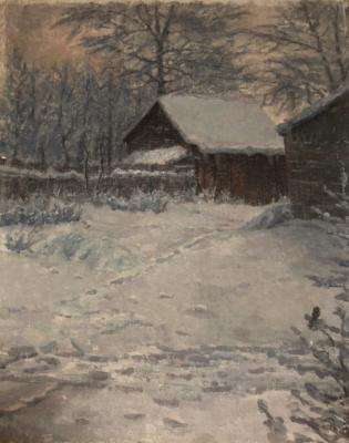 Бродская Лидия Исааковна. Снег
