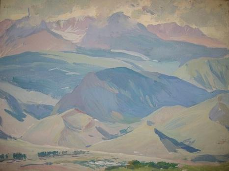 "Brynskikh B. A. ""The mountains."""