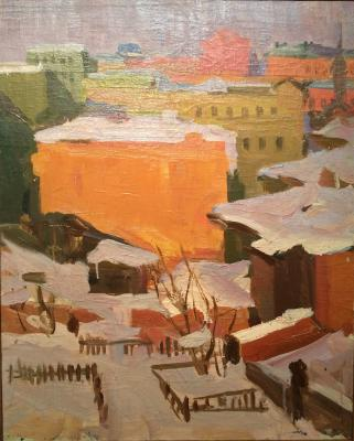 "Nefedova L. S. ""Moscow Courtyard."""
