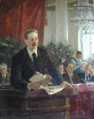 """Suzdaltsev M. A. """"A speech. M. Gorky"""