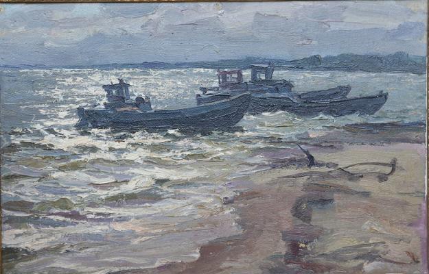 "Suzdaltsev M. A. ""On the Volga."""