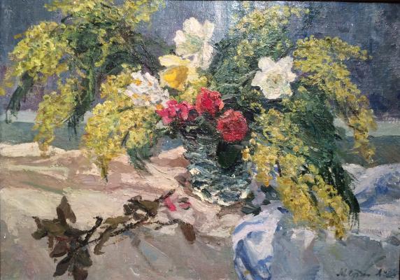 "Suzdaltsev M. A. ""Spring flowers"""