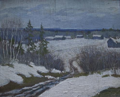 "Bogolyubov B. M. ""Early spring."""