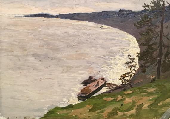 """Filatov G. V. """"At the seaside."""""""