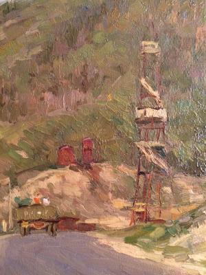 """Filatov G. V. """"Road to the Zhiguli Mountains."""""""
