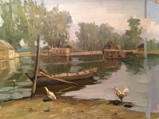 """Filatov G. V. """"At the river"""""""