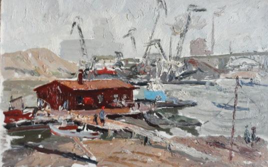 Filatov Gennady Vasilyevich - Construction of the Kuibyshev HPP