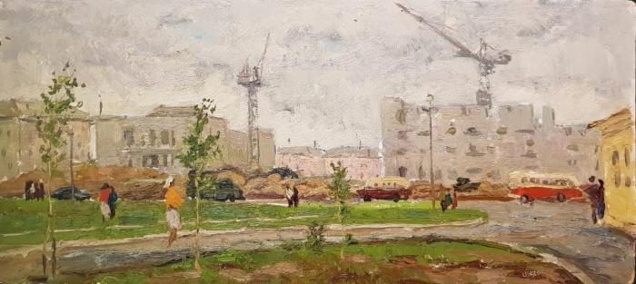 """Filatov G. V. """"New buildings of the city of Togliatti."""""""
