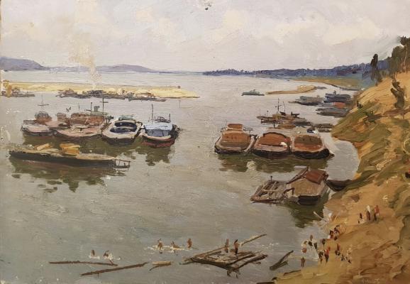 """Filatov G. V. """"Boat station"""""""