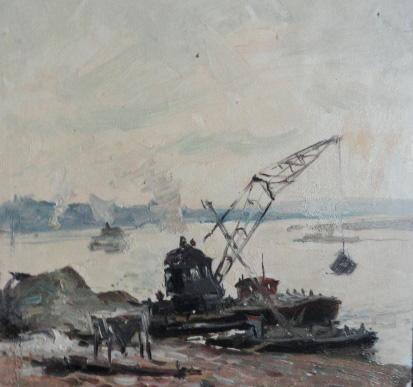 "Gennady Vasilyevich Filatov ""In the cargo port"""