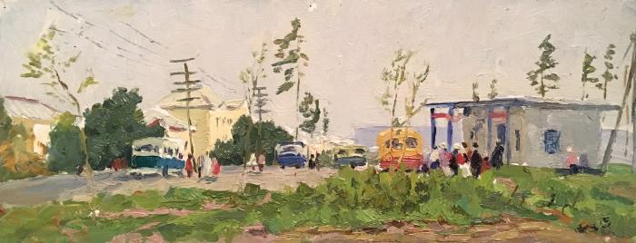 Филатов Геннадий Васильевич. Городской пейзаж