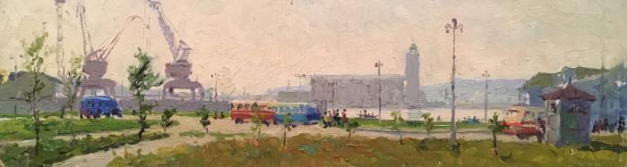 Филатов Геннадий Васильевич. Куйбышевская ГЭС