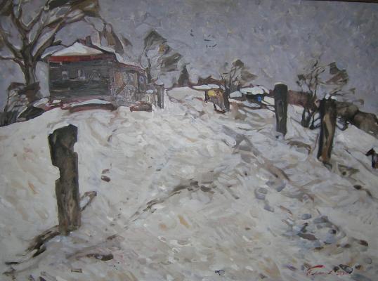 """Pimenov N. N. """"Snowed."""""""