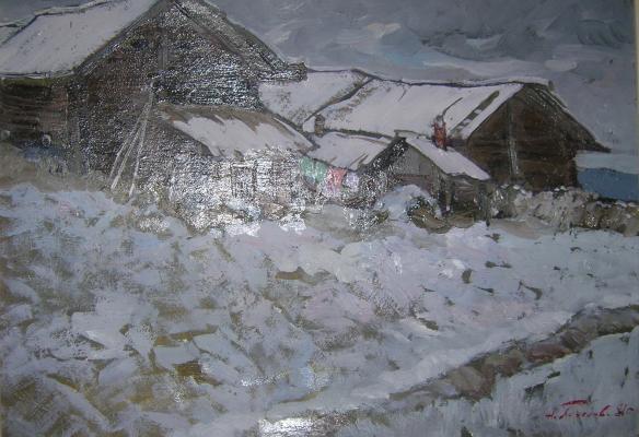 Пименов Николай Николаевич. Первый снег.
