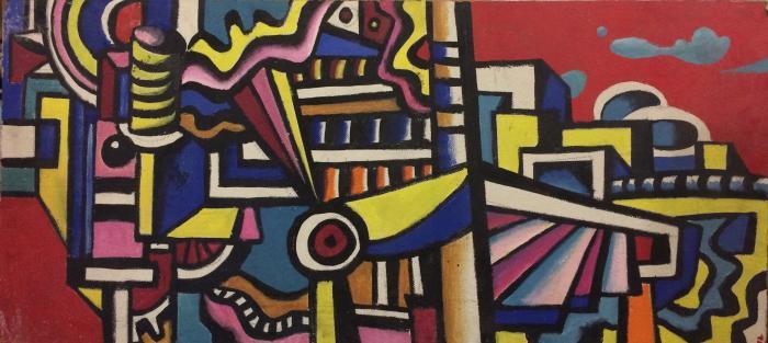 "Aleksandrov K. K. ""City motif."""