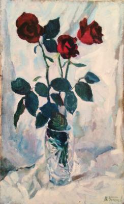 "Bogachev P. N. ""Red roses."""