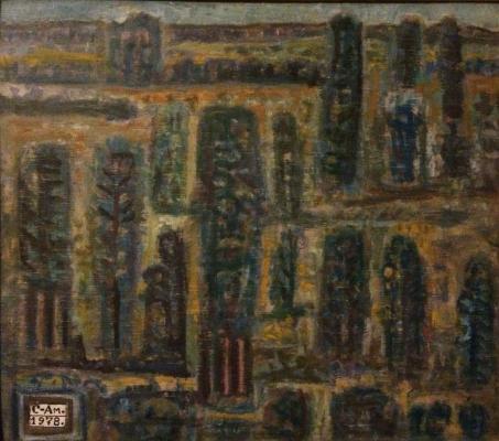 """Semenov-Amursky F. v. """"Landscape."""""""