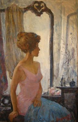 "Abakumov M. G. ""Before the Mirror."""