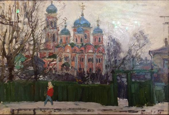 """Abakumov M. G. """"Spring in Torzhok."""""""