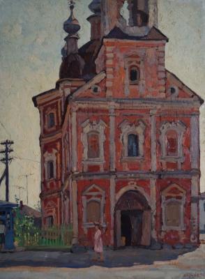 Тутунов Андрей Андреевич. Церковь в Переяславле