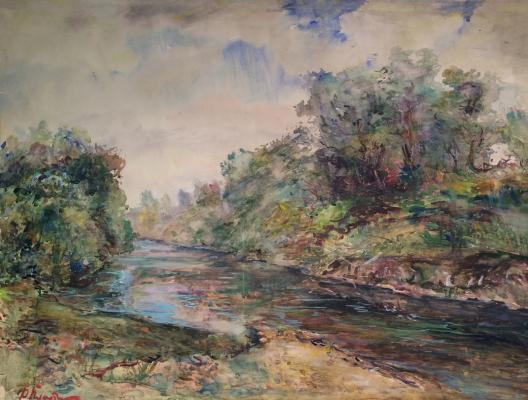 "Platov  ""On the river Lopasnya."""