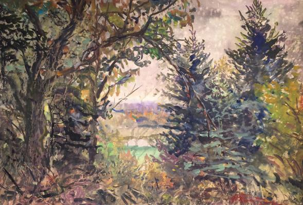 "Platov  ""Beginning of autumn."""
