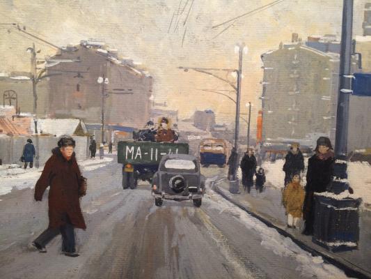 "Kalinycheva K. ""City landscape."""