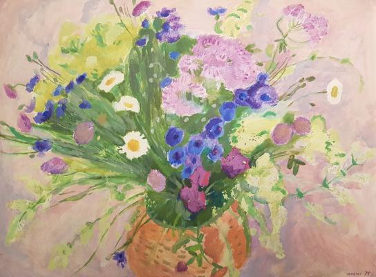 Калинычева Клара Ивановна. Полевые цветы