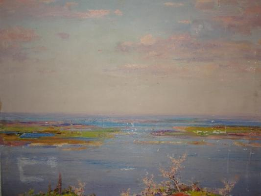 "Shishko S. F. ""Spring flooding of the Dnieper."""