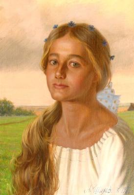 "Shilov A. M. ""Russian beauty"""