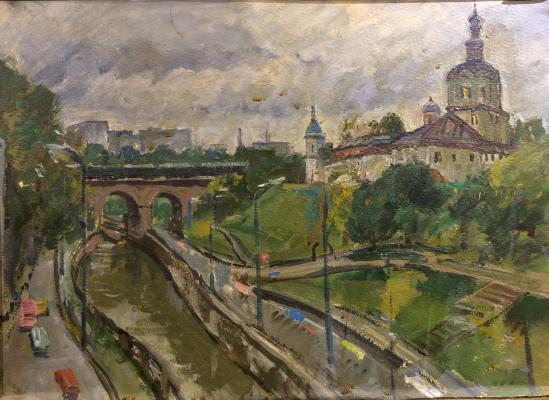 """Veydemanis E. K. """"Moscow etude."""""""