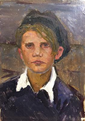"Veydemanis E. K. ""A boy from the village."""