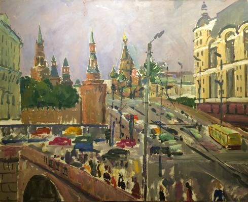 """Veydemanis E. K. """"Moscow. Kremlin."""""""