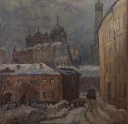 "Veydemanis E. K. ""Moscow. 1941."""