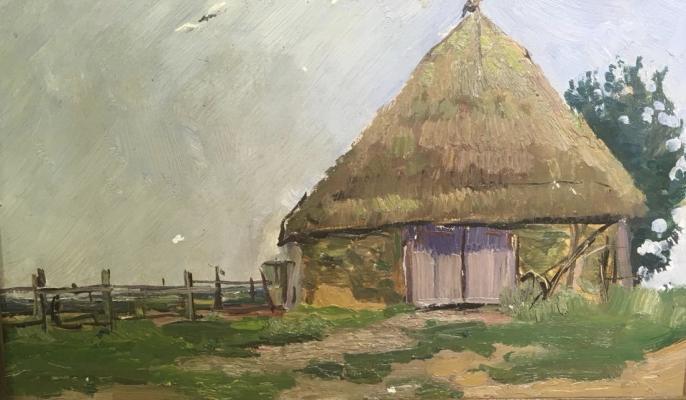 Вейдеманис Эгиль Карлович. Сарай - село Хильчичи