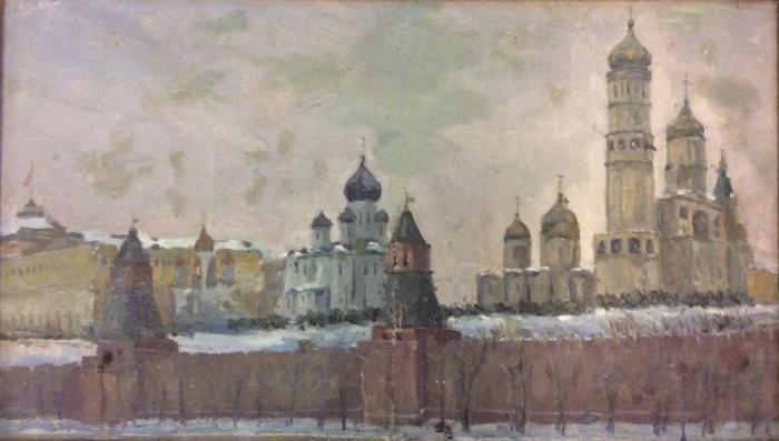 Вейдеманис Эгиль Карлович. Кремль зимой