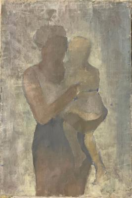 Захаров Павел Григорьевич. Мать с ребёнком