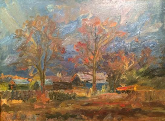 "Pasko G. I. ""Autumn Evening."""