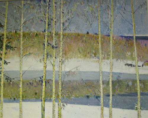 """Yakupov K. A. """"Birches"""""""