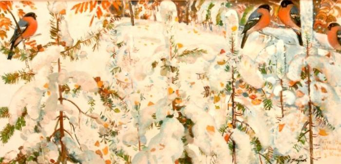 "Yakupov K. A. ""Early Snow"""