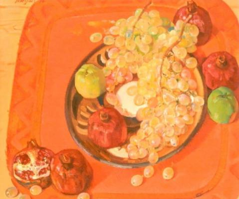 "Yakupov K. A. ""Fruits on a red."""