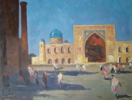 "Ageyev M. S. ""Samarkand. Registan Square. Tillya Kari."""