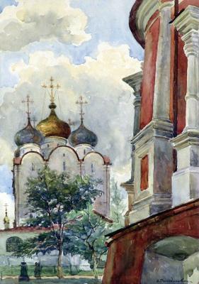 """Romodanovskaya A. """"Smolensky Cathedral. Novodevichy Convent"""""""